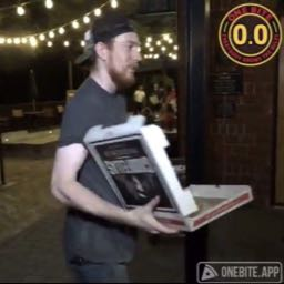 robhood on One Bite Pizza App