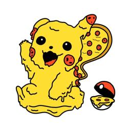 pizzachu on One Bite Pizza App