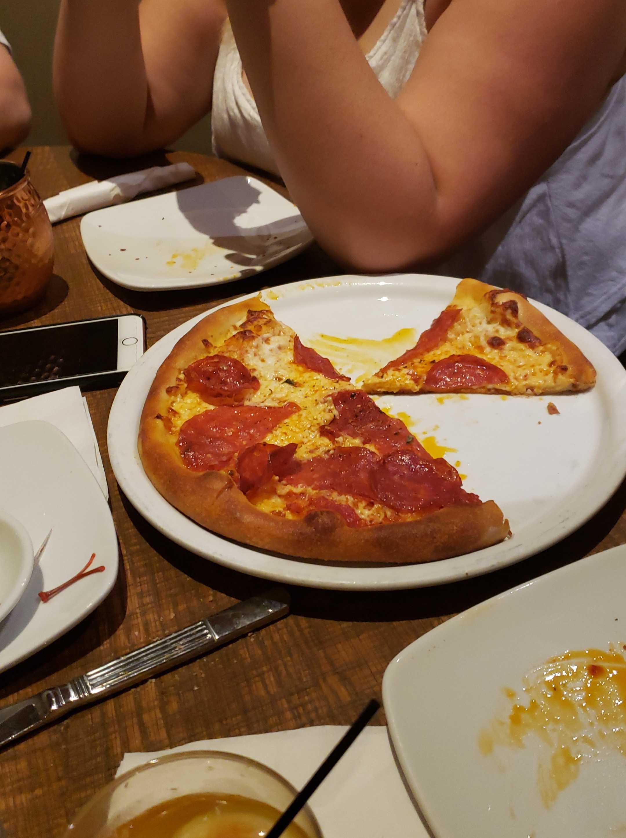 One Bite Pizza Review California Pizza Kitchen