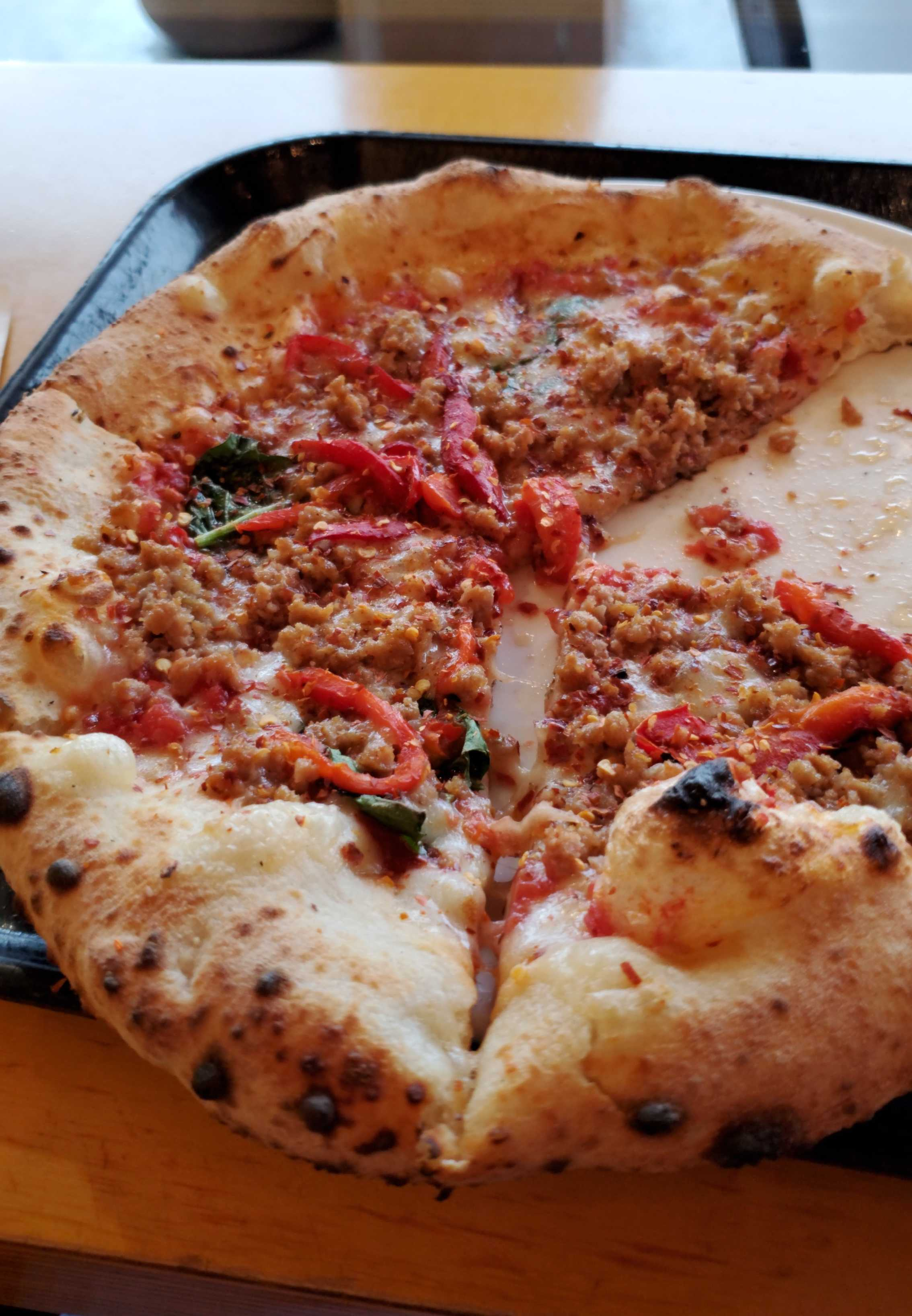 Jacqoo S Pizza Review At Punch Neapolitan Pizza Lake Street One Bite Next time ask for the pizza to be punch dry. one bite app