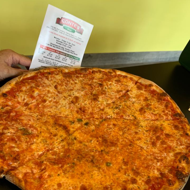 One Bite Pizza Review @ Conte's Pizza
