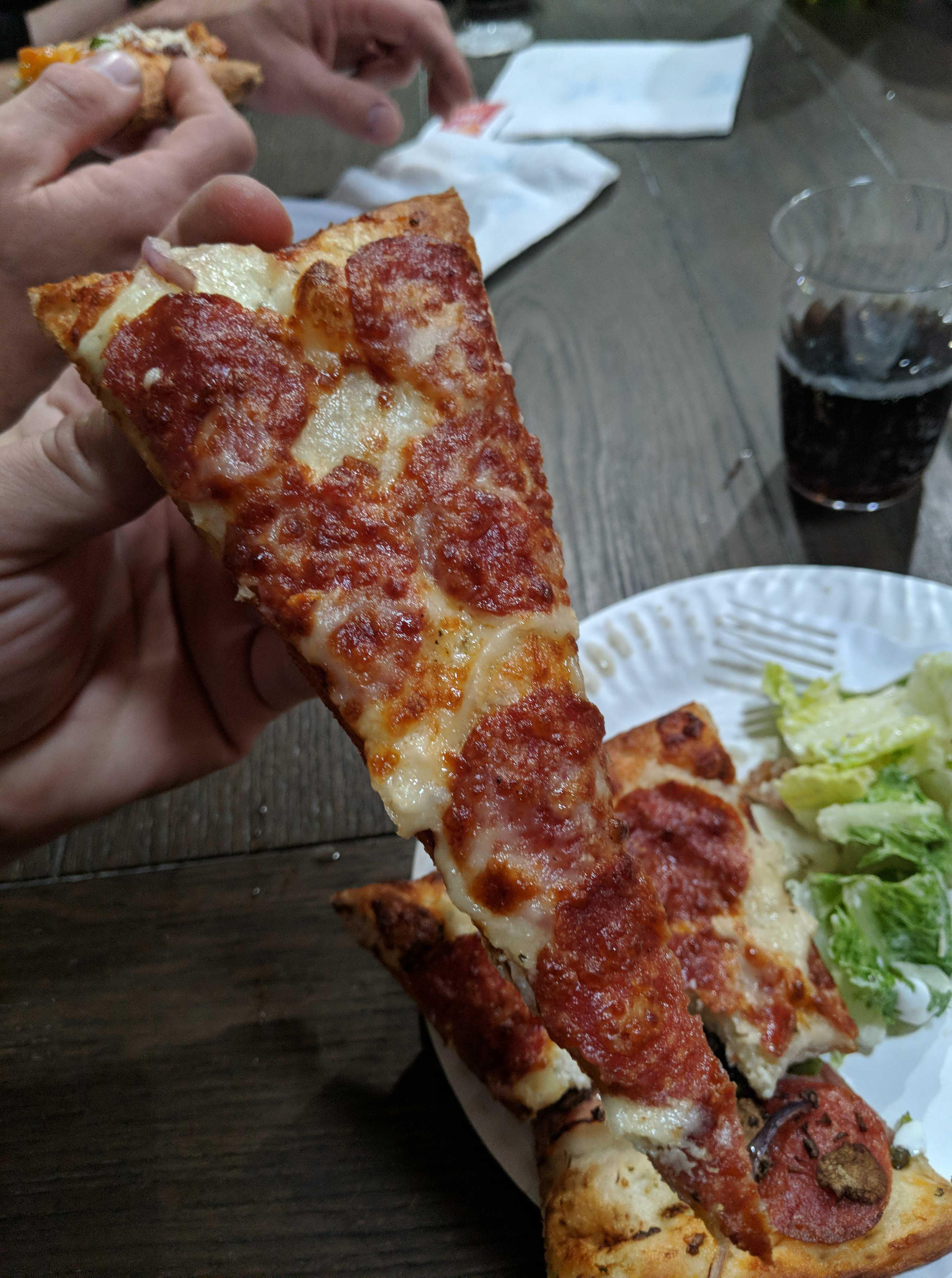 One Bite Pizza Review Original Pizza House