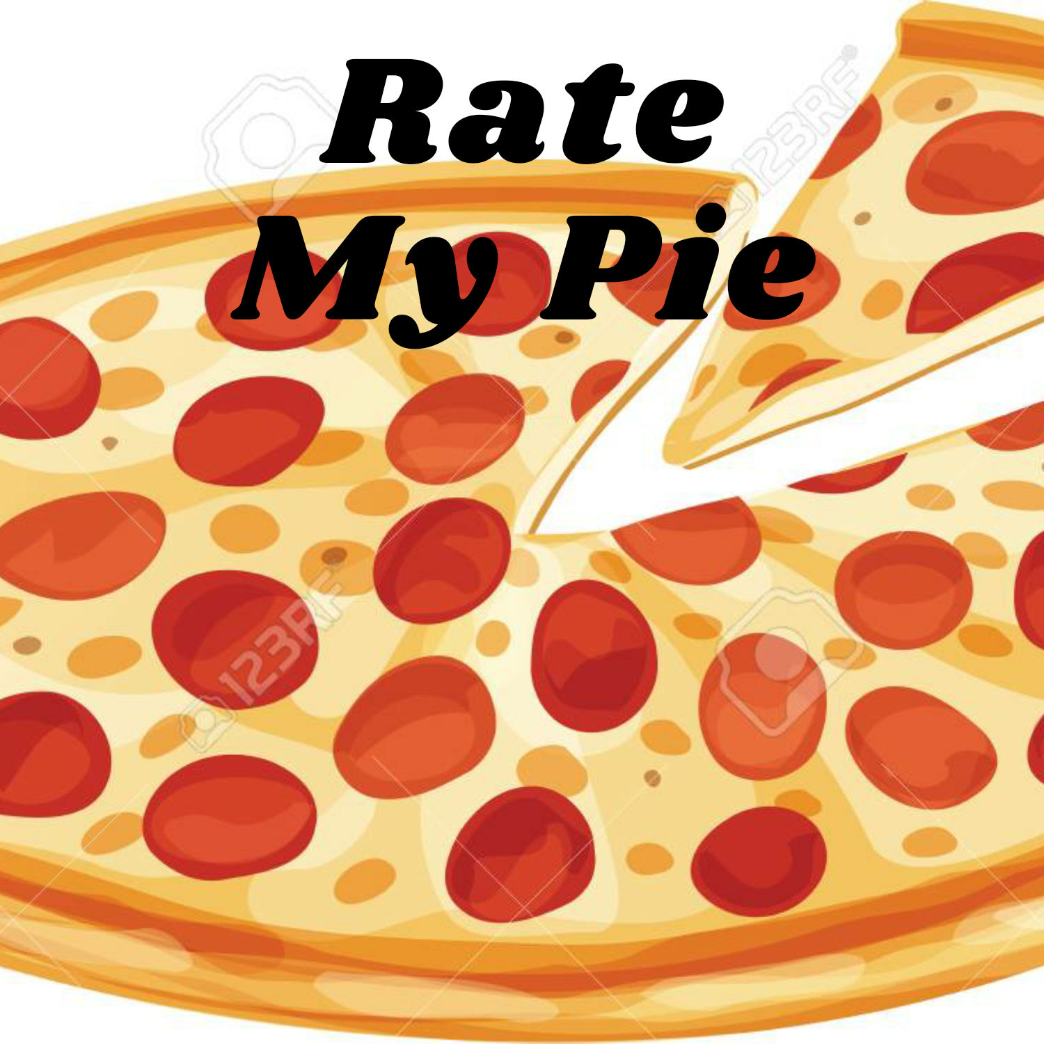 ratemypie on One Bite Pizza App
