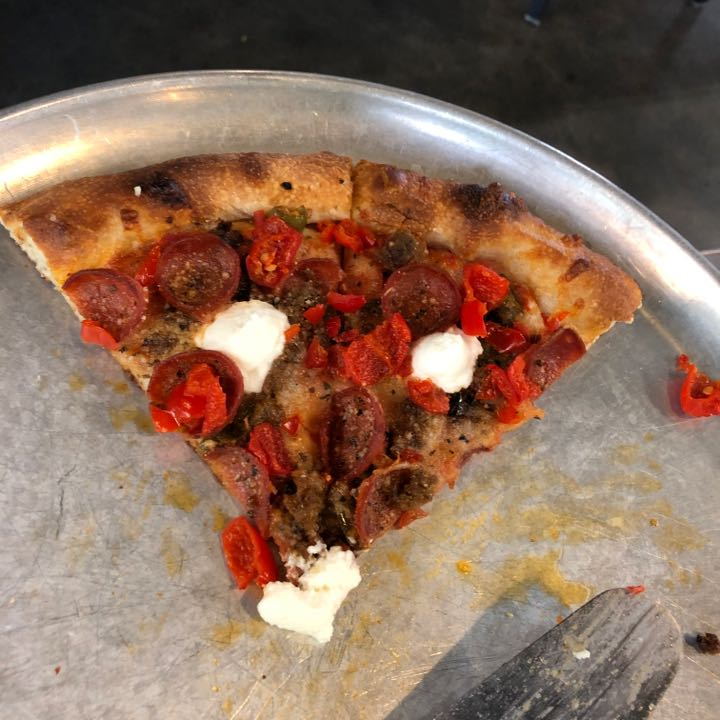 One Bite Pizza Review Rickety Cricket Brewing