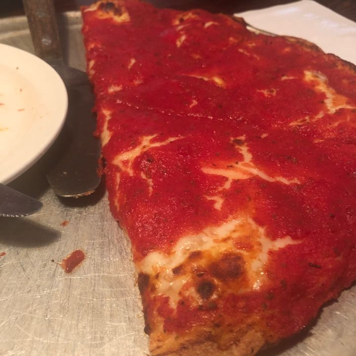 emily matos s pizza review at red front restaurant one bite pizza review at red front restaurant